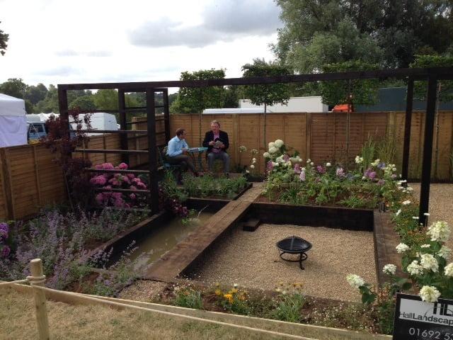 Sandringham flower show garden 2014