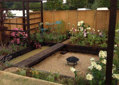 Sandringham show garden 2014