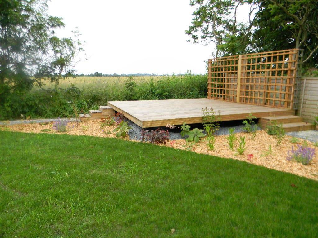 Binham holiday cottage garden design