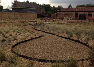 Gravel circle