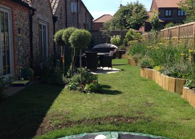 Wells Norfolk family garden design