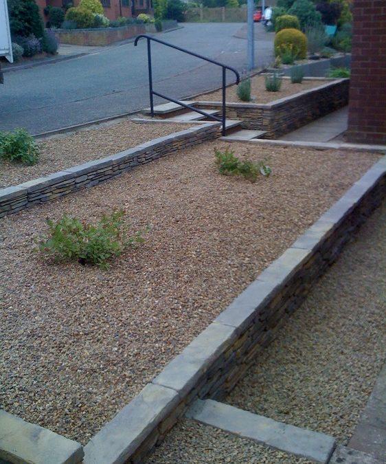 Norwich front garden design