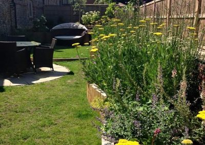 Wells, Norfolk family garden design