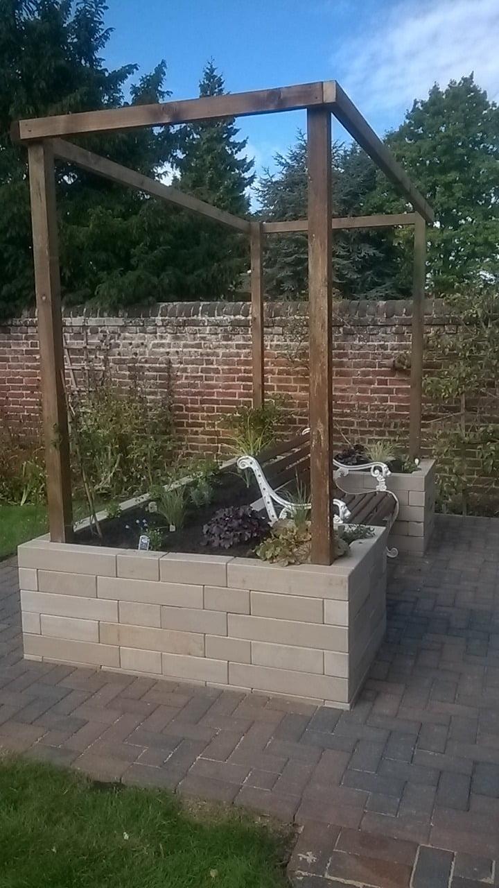 Norwich garden feature