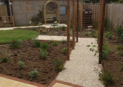 Small garden make over