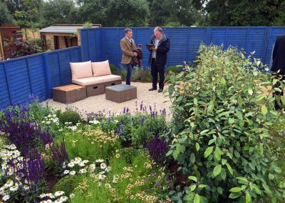 Flower show garden 2016