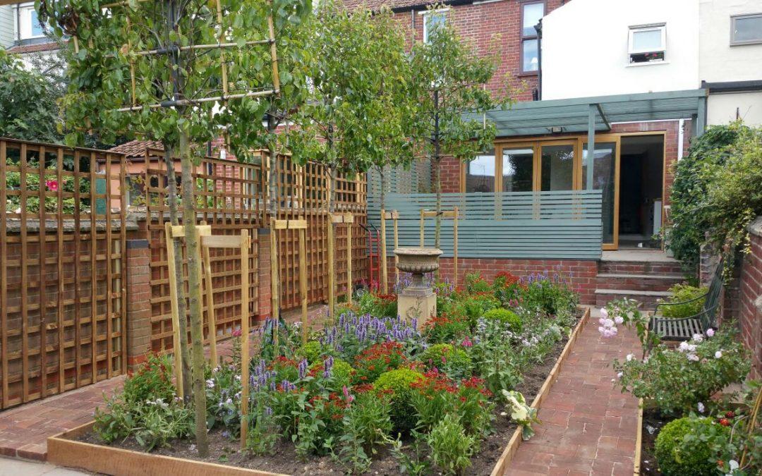 Inner city garden