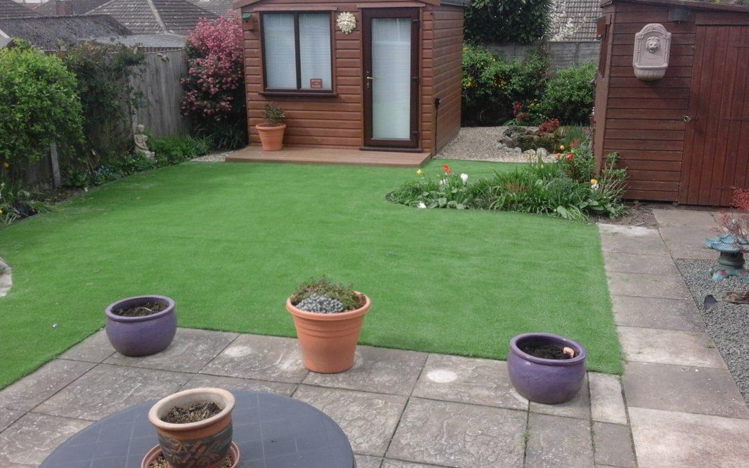 Artificial grass installation Norwich