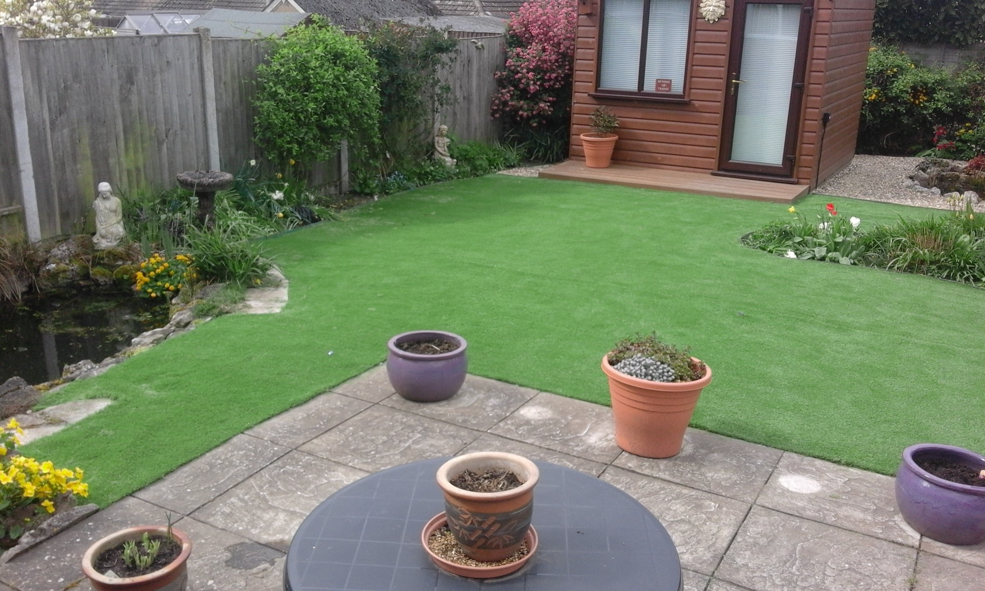 Artificial grass installation Norwich   Hall Landscaping ...